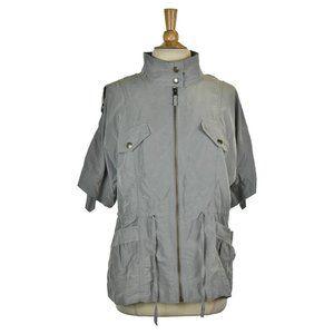 Ann Taylor LOFT Jackets LG Grey